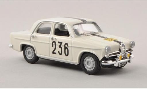 Alfa Romeo Giulietta 1/43 Rio T.I. No.236 Rallye Genf 1963 A.Cavallari diecast model cars