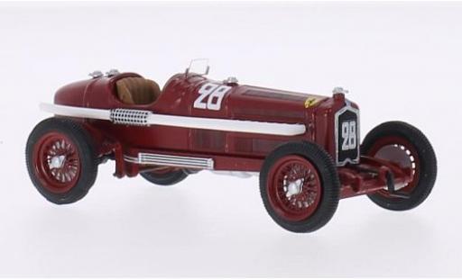 Alfa Romeo P3 1/43 Rio No.28 Scuderia Ferrari Formel 1 GP Nizza 1934 A.Varzi miniature