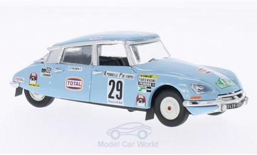 Citroen DS 21 1/43 Rio 21 No.29 Adif (E) Rallye Marocco 1972 R.Ponelle/P.de Serpos miniature
