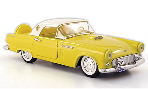 Ford Thunderbird 1/43 Rio Hardtop jaune/blanche 1956 miniature