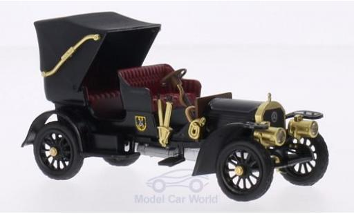 Mercedes Simplex 1/43 Rio negro/Dekor RHD 1902 Kaiser Wilhelm II. mit Figur miniatura