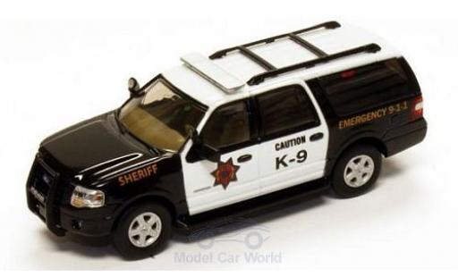 Ford Expedition 1/87 River Point EL SSP Police (USA) 2007 K-9 Sheriff miniature