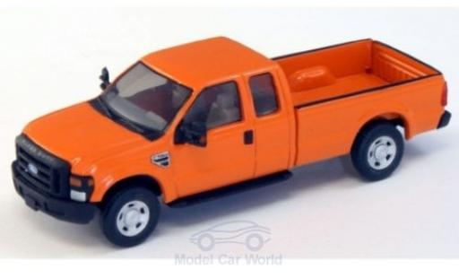 Ford F-250 1/87 River Point XLT Super Cab naranja 2008 miniatura