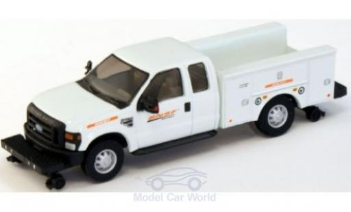 Ford F-350 1/87 River Point XLT Super Cab Utility Hi-Rail Truck BNSF 2008 miniature