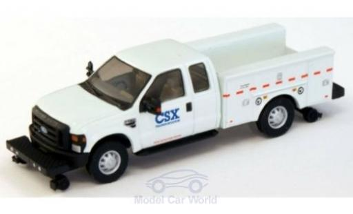 Ford F-350 1/87 River Point XLT Super Cab Utility Hi-Rail Truck CSX 2008 miniature