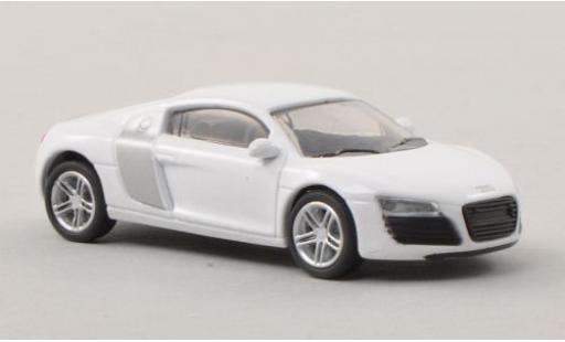 Audi R8 1/87 Schuco white/grey diecast model cars
