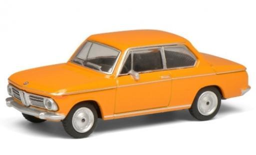 Bmw 2002 1/64 Schuco orange  miniature