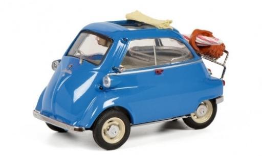 Bmw Isetta 1/43 Schuco blu Picknick modellino in miniatura