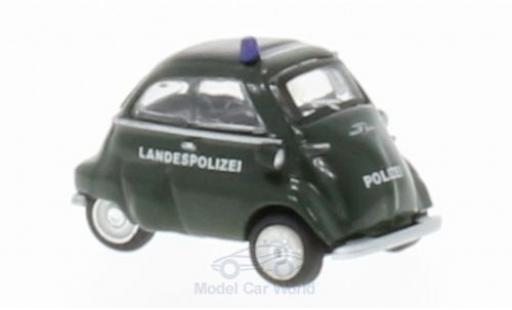 Bmw Isetta 1/87 Schuco Landespolizei miniature