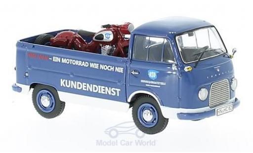 Ford FK 1/43 Schuco 1000 Pritsche NSU Service mit NSU-Max diecast