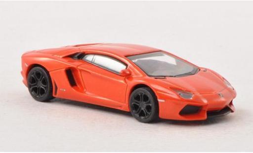 Lamborghini Aventador 1/87 Schuco LP 700-4 metallise orange diecast model cars