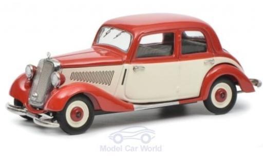 Mercedes 170 1/43 Schuco V rouge/beige miniature