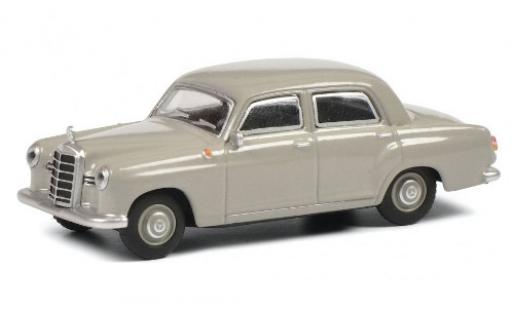 Mercedes 180 1/64 Schuco D (W120) grise Ponton miniature