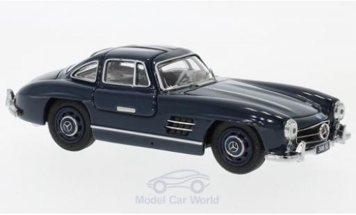 Mercedes 300 SL 1/43 Schuco Coupe (W198) bleue miniature