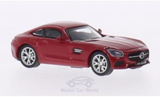 Mercedes AMG GT 1/87 Schuco S (C190) red diecast model cars