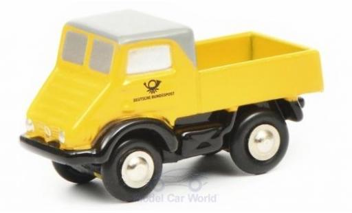 Mercedes Unimog 1/90 Schuco U401 Deutsche Bundespost miniature