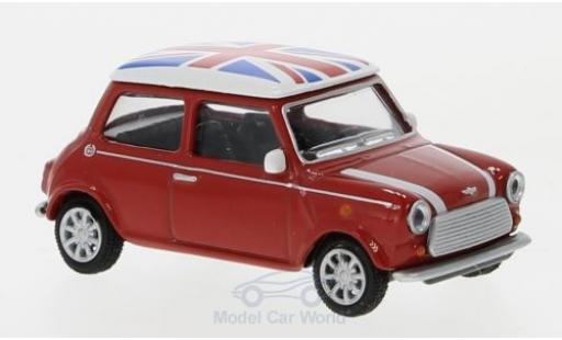 Mini Cooper D 1/64 Schuco rot/ekor Union Jack modellautos
