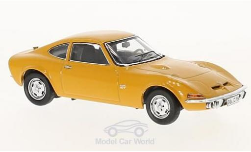 Opel GT 1/43 Schuco orange miniature