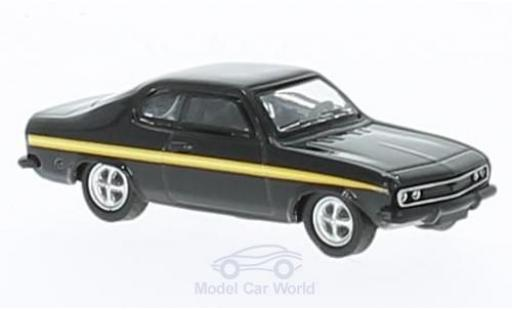 Opel Manta B 1/87 Schuco A noire/Dekor Black Magic miniature