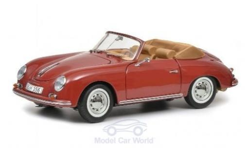 Porsche 356 1/18 Schuco A Carrera Cabriolet rouge miniature