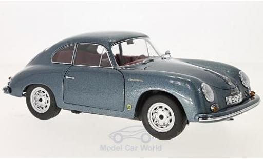 Porsche 356 A 1/18 Schuco Carrera Coupe metallise blue 70 Jahre diecast model cars