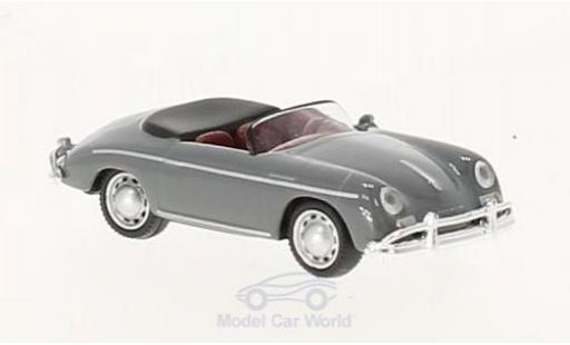 Porsche 356 A 1/87 Schuco Speedster grey diecast model cars