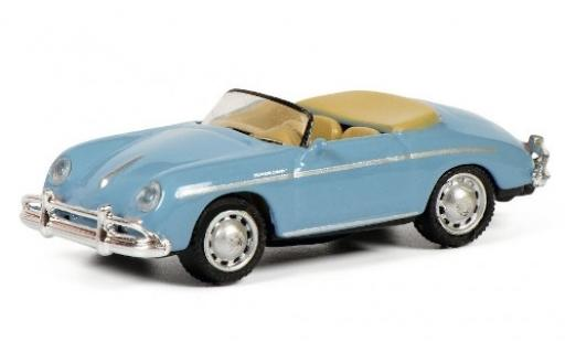 Porsche 356 1/87 Schuco A Speedster bleue miniature