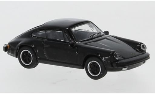 Porsche 911 1/87 Schuco 3.2 noire miniature