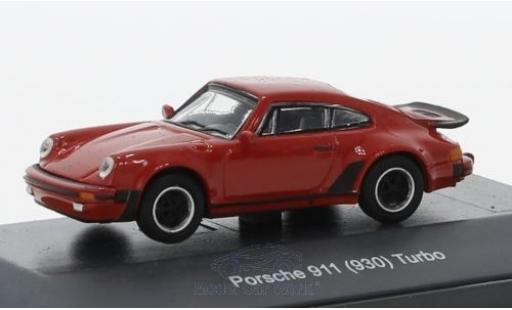 Porsche 930 Turbo 1/87 Schuco (930) Turbo rouge miniature