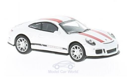 Porsche 991 R 1/87 Schuco 911  white/red diecast model cars