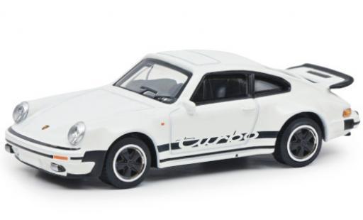 Porsche 930 Turbo 1/64 Schuco 911  white/Dekor Paperbox Edition diecast model cars