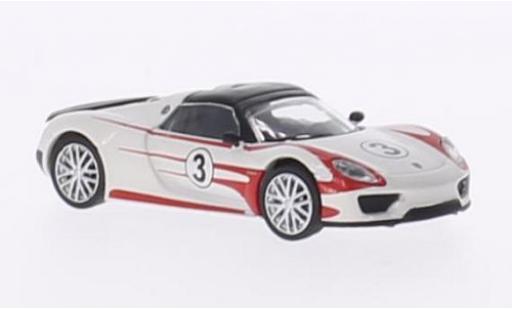 Porsche 918 1/87 Schuco Spyder Salzburg Racing Design miniature