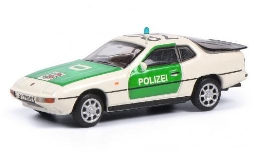 Porsche 924 1/87 Schuco Polizei (D) diecast model cars