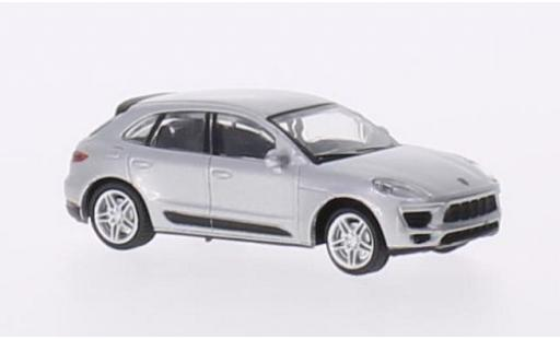 Porsche Macan S 1/87 Schuco grise miniature