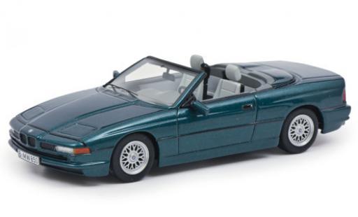 Bmw 850 1/43 Schuco ProR Ci Cabriolet metallise verte miniature