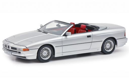 Bmw 850 1/18 Schuco ProR Ci Cabriolet grey diecast model cars