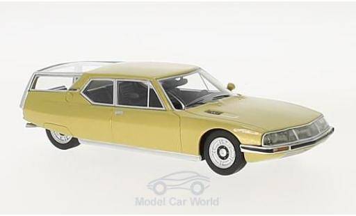 Citroen SM 1/43 Schuco ProR Shooting Brake gold miniature