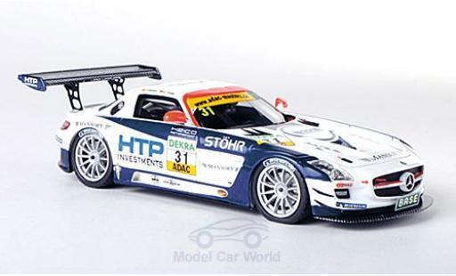 Mercedes SLS 1/43 Schuco ProR AMG GT3 No.31 Heico Motorsport ADAC GT Masters 2011 T.Holzer/C.Tilke miniature
