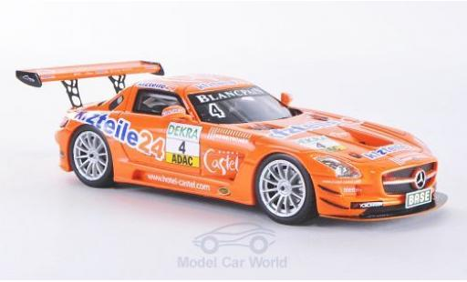 Mercedes SLS 1/43 Schuco ProR AMG GT3 No.4 MS Racing Team Kfzteile24 ADAC GT Masters 2012 Stoll/Dobitsch miniature