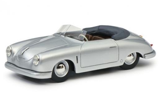 Porsche 356 1/43 Schuco ProR Gmünd Cabriolet grey 1950 diecast model cars