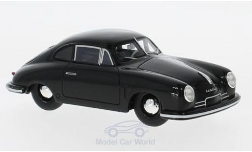 Porsche 356 A 1/43 Schuco ProR Gmünd Coupe black 1949 diecast model cars