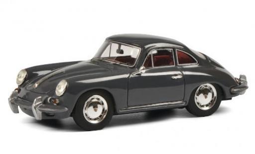 Porsche 356 1/43 Schuco ProR SC grise miniature