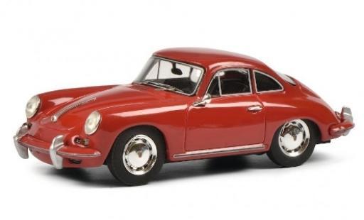 Porsche 356 1/43 Schuco ProR SC rouge miniature