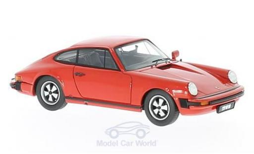 Porsche 930 SC 1/43 Schuco ProR 911 Coupe red 1975 diecast model cars