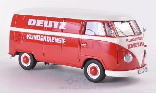 Volkswagen T1 1/18 Schuco ProR Kasten Deutz Kundendienst miniature