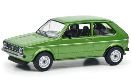 Volkswagen Golf 1/64 Schuco I verte Paperbox Edition miniature