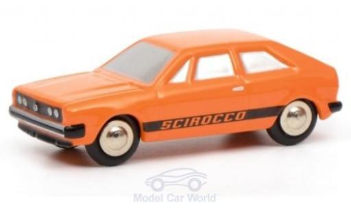 Volkswagen Scirocco 1/90 Schuco I orange miniature
