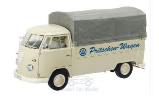 Volkswagen T1 1/18 Schuco b Pritsche Pritschen-Wagen 1959 mit Plane modellautos