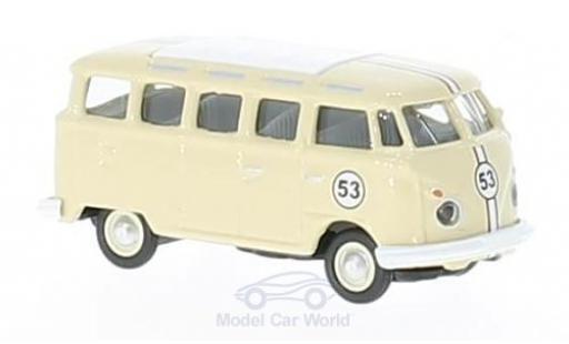 Volkswagen T1 B 1/87 Schuco c Samba beige No.53 miniature