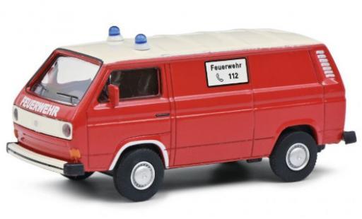 Volkswagen T3 1/64 Schuco Kasten Feuerwehr